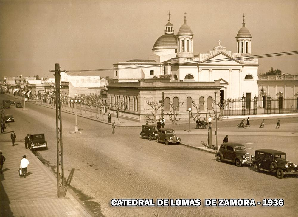 Copia de Catedral y plaza 1936