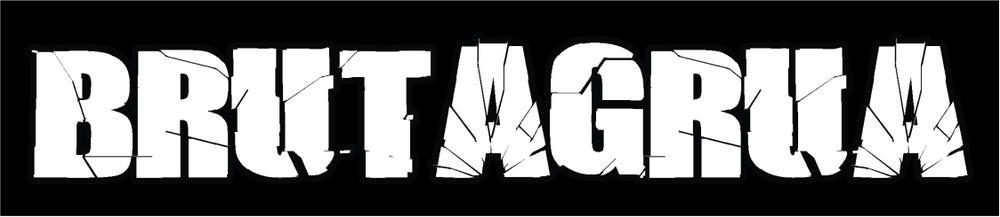 brutagrua blanco logo fondo negro (1)
