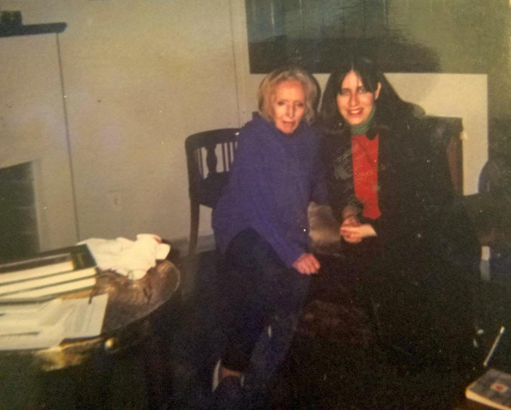 Tania Anaid Ramos junto a Idea Vilariño Foto del 29 de agosto de 2000 (2)